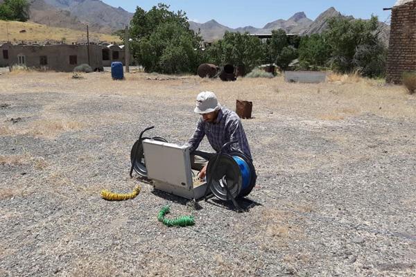 تعیین محل حفر چاه آب
